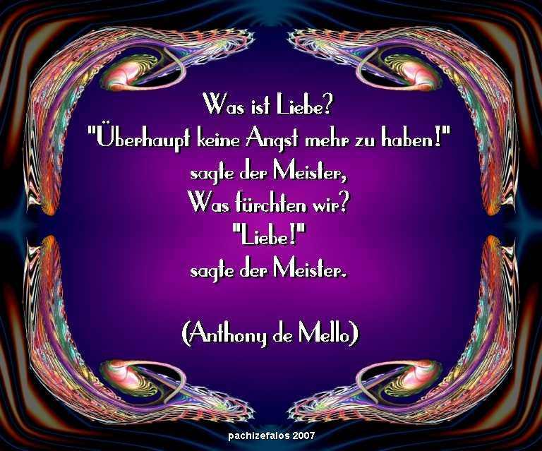 Anthonyde mello was ist liebe