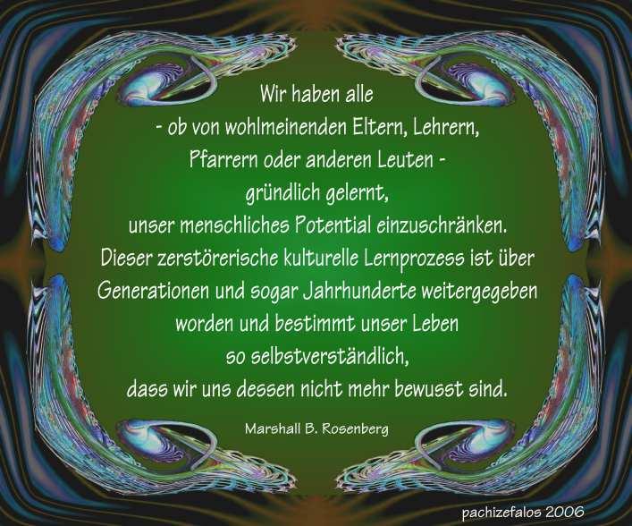 Marshall B. Rosenberg - Lernprozess