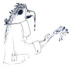 Adler - gierig