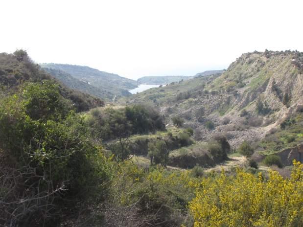 Zypern, Blick-auf-Mavrokolympos-Stausee